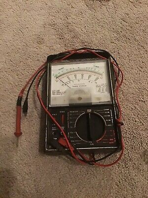 Micronta 22-204c Analog Multimeter