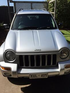 2004 Jeep Cherokee Limited V6 Petrol Leather Sunroof Aldinga Beach Morphett Vale Area Preview