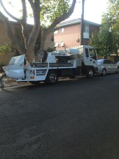 Isuzu Truck and Jacon Concrete Pump