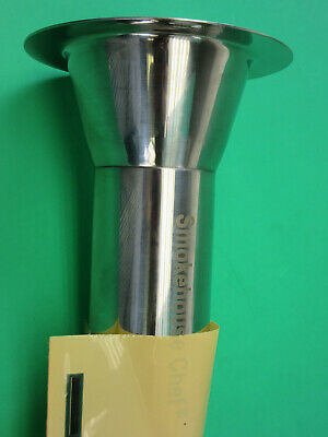 Steel 32 X 2 Stainless Meat Grinder Funnel Tube Lem Cabelas Hobart Biro Etc