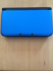 3DS XL Blue +2 Pokémon Games and charger