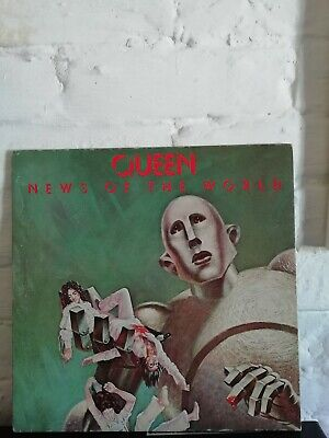 QUEEN... NEWS OF THE WORLD (1977)EMI 3C 064 60033..VINYL IS MINT