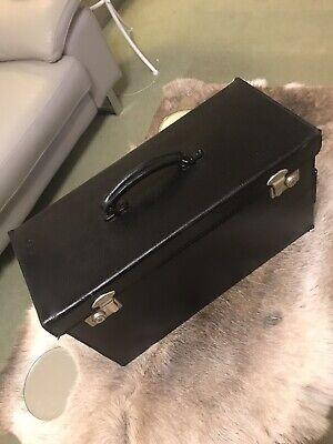 Doctors / Vets Case Black Leather