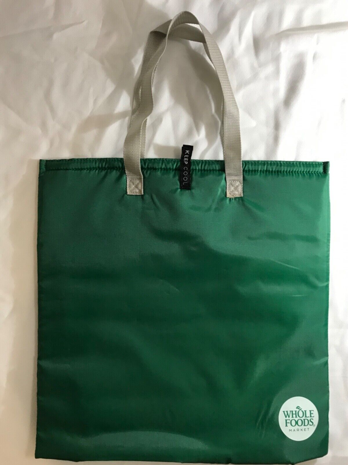 Whole Foods Insulated Cooler Grocery Tote Bag, Large