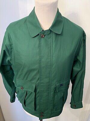 Mens Smart Original Burberrys Green Jacket/Coat *UK Size Large*