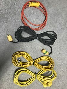 4 good used extension cords