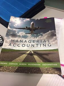Managerial Accounting and Financial Management Book for NSCC