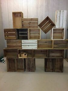 Pine Wood CRATES good assortment Burleigh Heads Gold Coast South Preview
