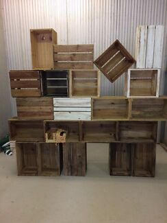 Pine Wood CRATES wide assortment in stock
