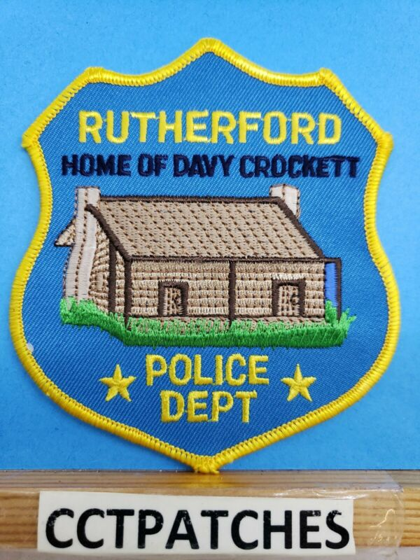 RUTHERFORD, TENNESSEE POLICE SHOULDER PATCH TN