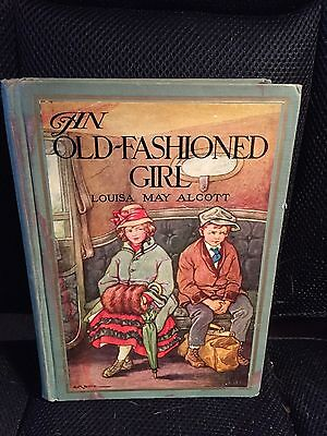 An Old-Fashioned Girl by Louisa May Alcott Illustration by Burd 1928 Edition