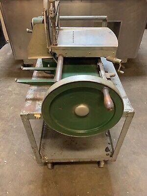 1920s Hand Crank Manual Meat Prosciutto Slicer Berkel Dayton Vdf