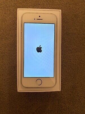 Apple iPhone 5s - 16GB - Silver (Unlocked) A1453 (GSM)