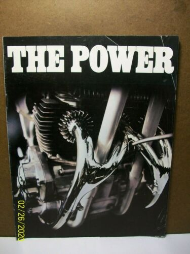 "1971 BSA ~ Full Line Brochure ""The Power & Glory"""