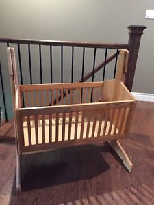 Solid Oak Crib