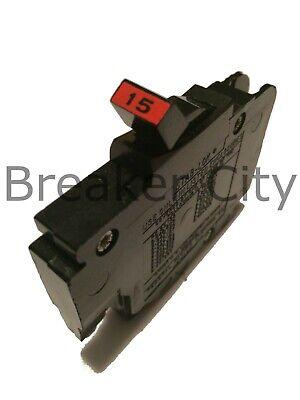 Federal Pacific 15 Amp 1 Pole Type Nc Thin Stab-lok Nc115 Fpe Breaker 120 Volt
