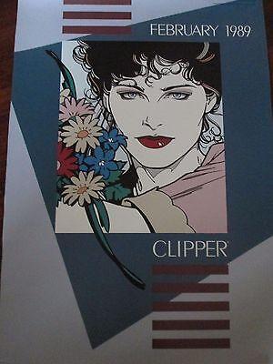 """Restores Gray Hair/"""" Vintage Ad Poster 1886 /""""Ayers Hair Vigor 16x24"""