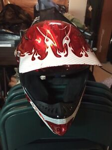 ATV helmet youth size small excellent condition