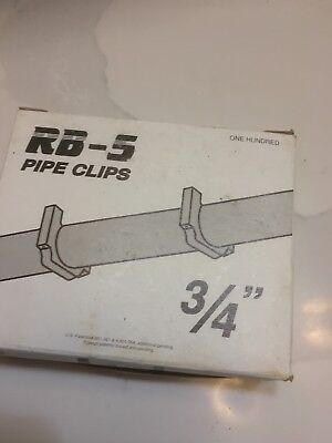 P6bk 34 Pex Stand-off Pipe Clips Peter Mangone For Rb-5 Rb-6 Box Of 100