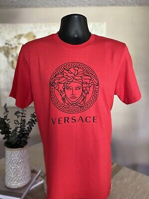 Versace T-shirt New 2020 Summer Logo