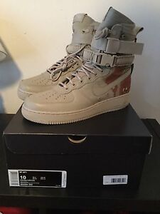 Nike Special Field Air Force 1 Desert Camo Size 10 SF AF1