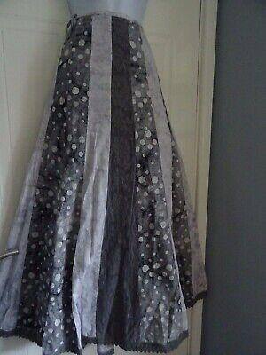 Stunning Ladies PER UNA Long Autumnal Boho Gypsy Flippy Skirt Size 14/16