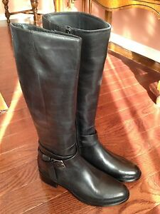 Cole Haan Leather Boots 10.5 (fit like a 10) NEW