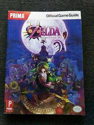 Legend of Zelda Majora's Mask 3D Prima Strategy Guide Walkthrough Nintendo 3DS