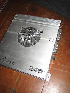 Soundstream Amplifier 240 watts Port Kembla Wollongong Area Preview