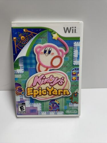 Kirby s Epic Yarn Game Complete Nintendo Wii - $17.99