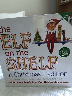 The Elf on the Shelf EOT Boy A Christmas Tradition with Book