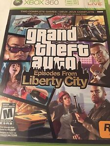 Grand theft auto episodes from liberty city for Xbox 360 games