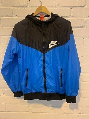 Nike Mens Rain Jacket Waterproof. 100% Cotton. Size L