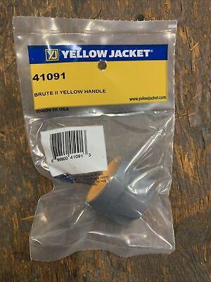 Yellow Jacket Brute Ii Manifold Replacement Yellow Handle Wscrew 41091