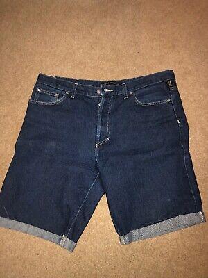 Mens Versace Jeans Shorts Summer 34-36 Waist