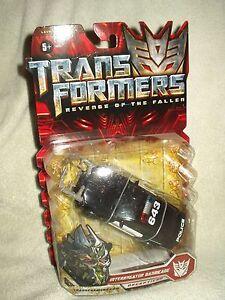 Transformers Action Figure ROTF Movie Deluxe Interrogator Barricade 6 inch