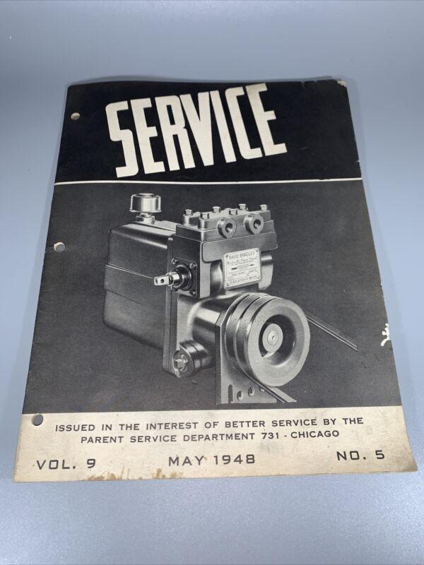 Sears David Bradley Hydraulic Power Control Manual Farm Implements Division 32