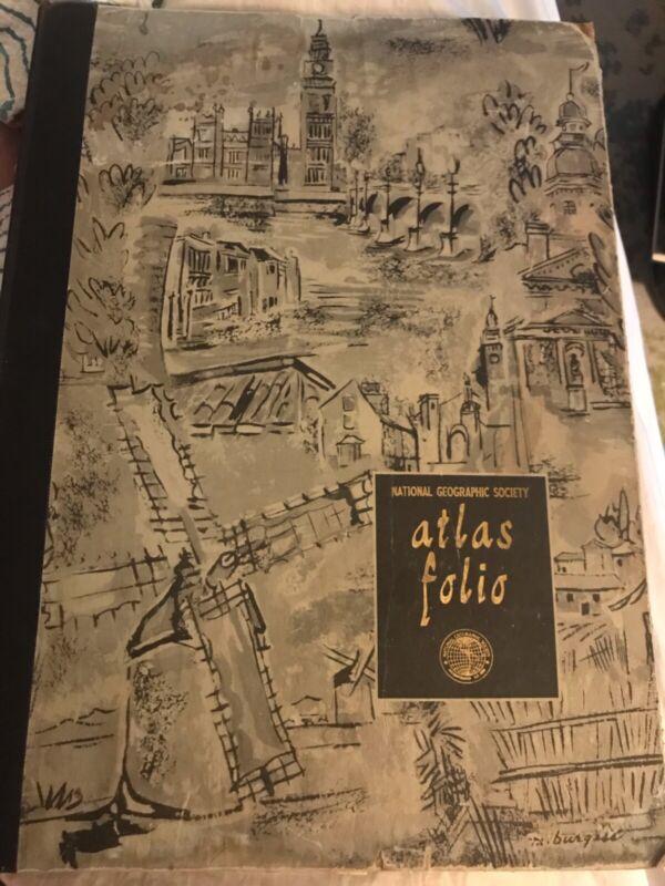 National Geographic Society Atlas Folio (1959)