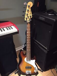 Fender American Deluxe Dimension 5 String Bass **New Price**