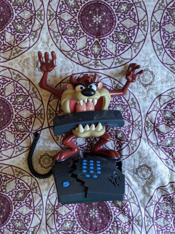 VTG 90s Looney Tunes Taz Phone