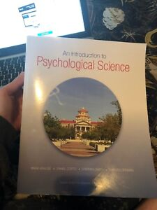 U OF M PSYCHOLOGICAL SCIENCE TEXTBOOK