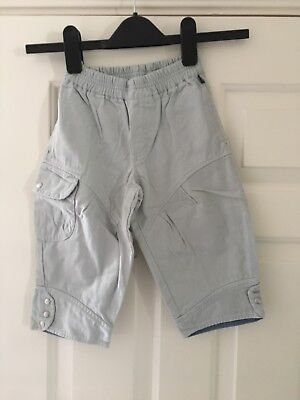 The Cakewalk Co. Boys Stone Trousers Size Eur 92 (2-3 Years)