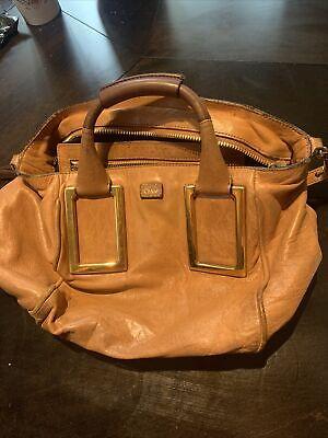 Vintage Chloe Bag-genuine leather