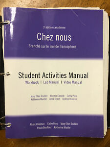 Chez Nous 3rd Edition - French (FREN-1101) Textbook