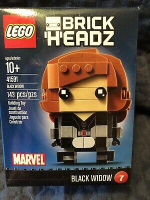 Lego BRICKHEADZ Brick Headz Marvel Avengers 41591 BLACK WIDOW 7 NEW