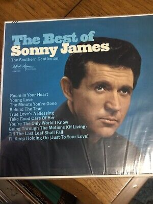 SONNY JAMES THE SOUTHERN GENTLEMAN The Best Of VG++/VG++ Glassine Album (The Best Of Sonny James)