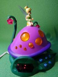 Disney Alarm Clock Radio F300ACRH Tinker Bell & The Lost Treasure Night Light