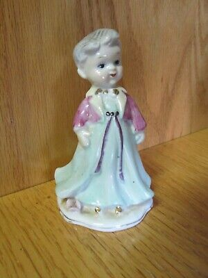 Vintage CHASE Hand Painted Japan CHOIR BOY Figurine