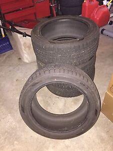 Dunlop graspic tires for sale (95% tread) Edmonton Edmonton Area image 1
