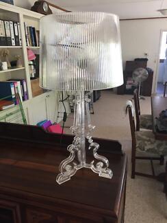 Matt Blatt Bourgie Lamp Clear